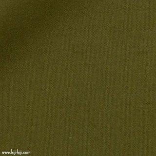 【ネル】ベーシックなコットンフランネル×片面起毛ネル|やわらかな風合い|カーキ|