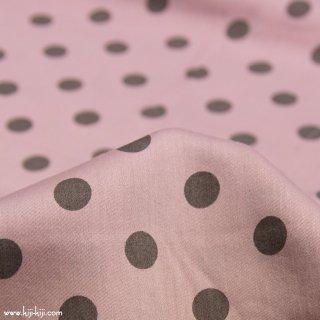 【cotton】French shabby dot|フレンチシャビードット|80サテンタンブラー|スモークピンク|