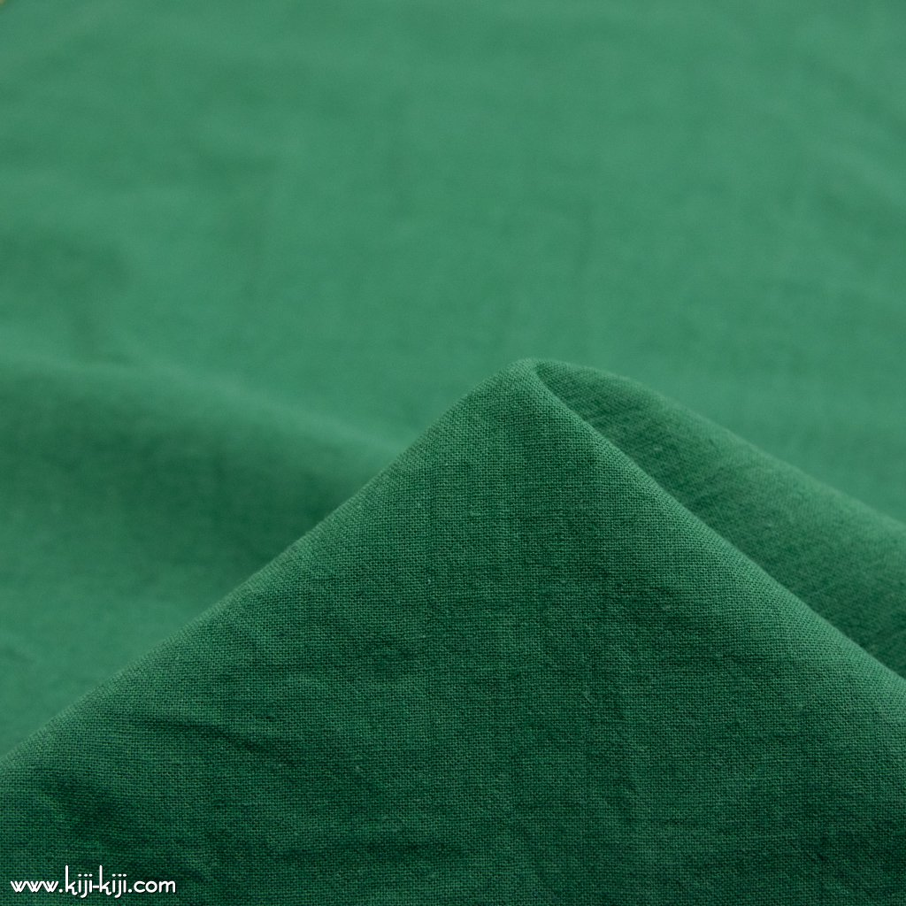 【4th anniversary sale】【cottton linen】Soft Harf Linen|ハーフリネンシーチングソフトワッシャー加工|グリーン| <img class='new_mark_img2' src='https://img.shop-pro.jp/img/new/icons20.gif' style='border:none;display:inline;margin:0px;padding:0px;width:auto;' />
