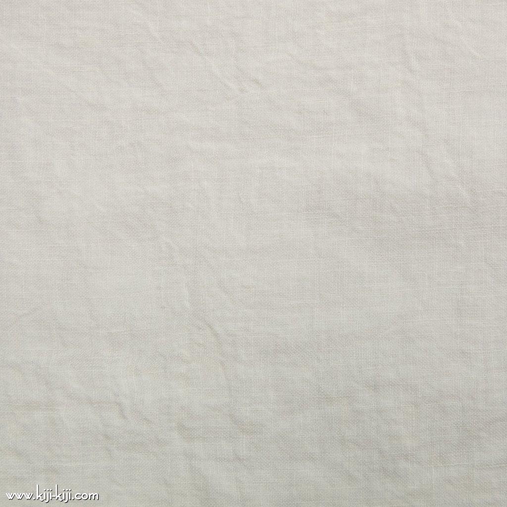 【linen】くったり仕上げの60リネン|職人さんが丁寧に仕上げました|オフホワイト|
