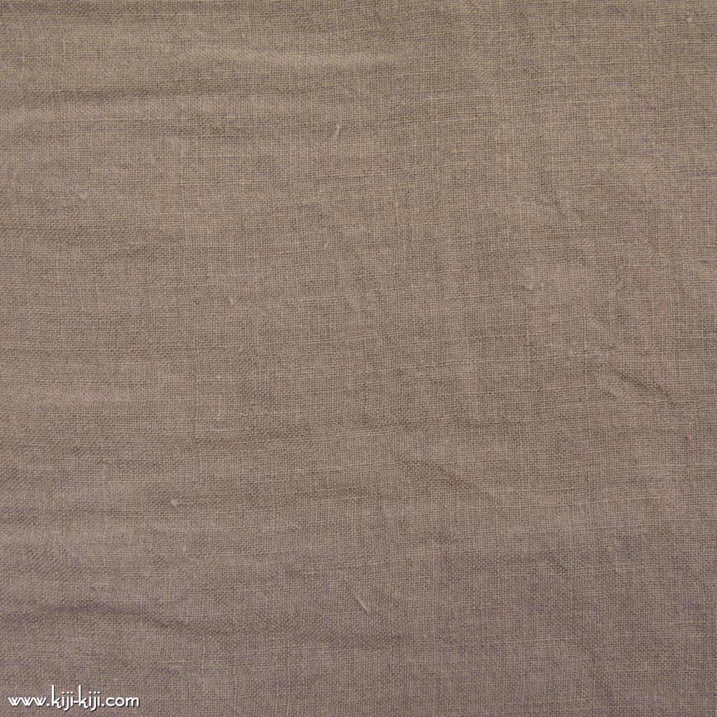 【linen】くったり仕上げの60リネン|職人さんが丁寧に仕上げました|グレージュ|