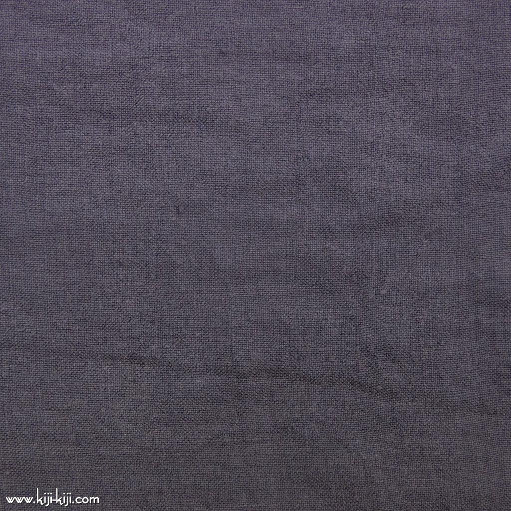 【linen】くったり仕上げの60リネン|職人さんが丁寧に仕上げました|スモークパープル|
