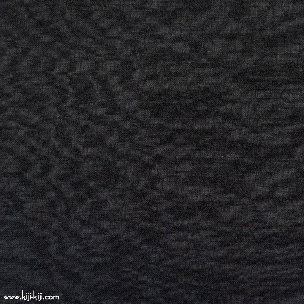 【linen】くったり仕上げの60リネン|職人さんが丁寧に仕上げました|ブラック|