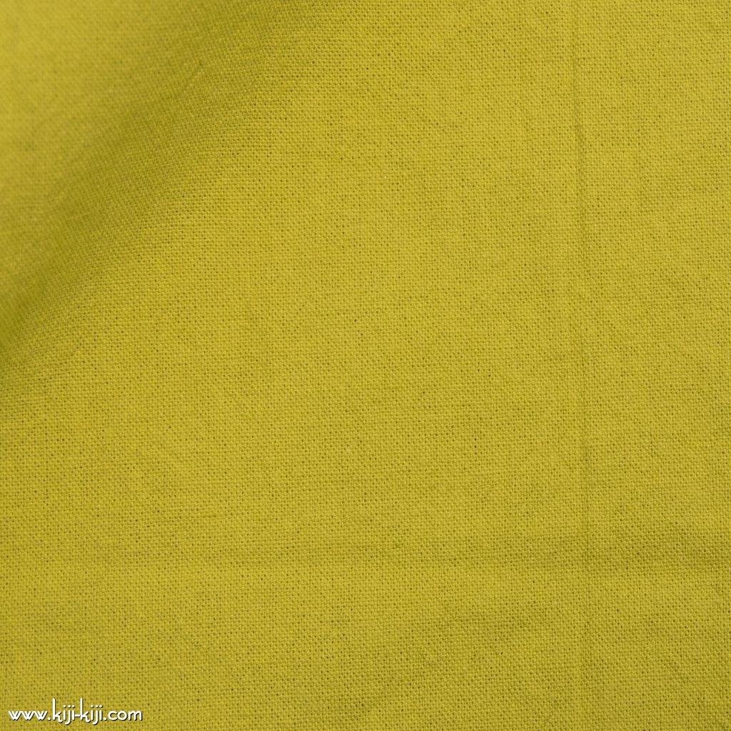 【cotton linen】ニュアンスカラーのやわらかコットンリネンキャンバス イエロー <img class='new_mark_img2' src='https://img.shop-pro.jp/img/new/icons5.gif' style='border:none;display:inline;margin:0px;padding:0px;width:auto;' />