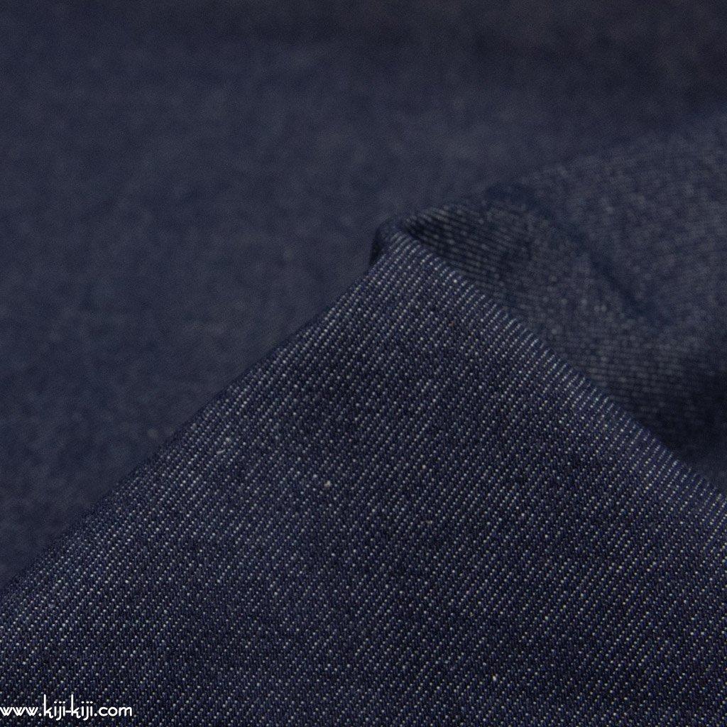 【denim】72cm巾のセルビッチデニム|約12オンスデニム|ネイビー|