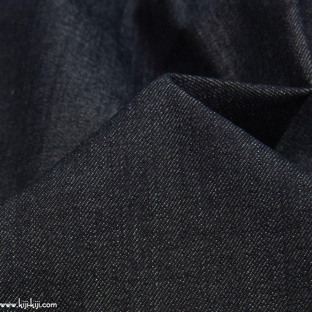 【denim】80cm巾のセルビッチデニム|約13オンスデニム|ディープネイビー|