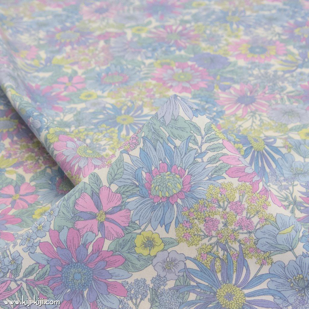 【コットンブロード】botanical flowers|ボタニカルフラワーズ|コットンブロード|パステル|