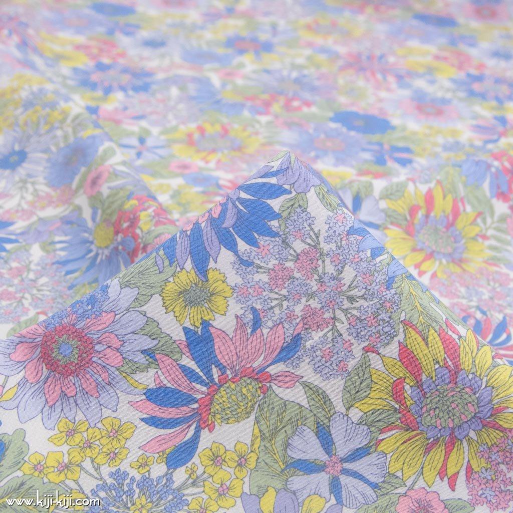 【コットンブロード】botanical flowers|ボタニカルフラワーズ|コットンブロード|スプリング|