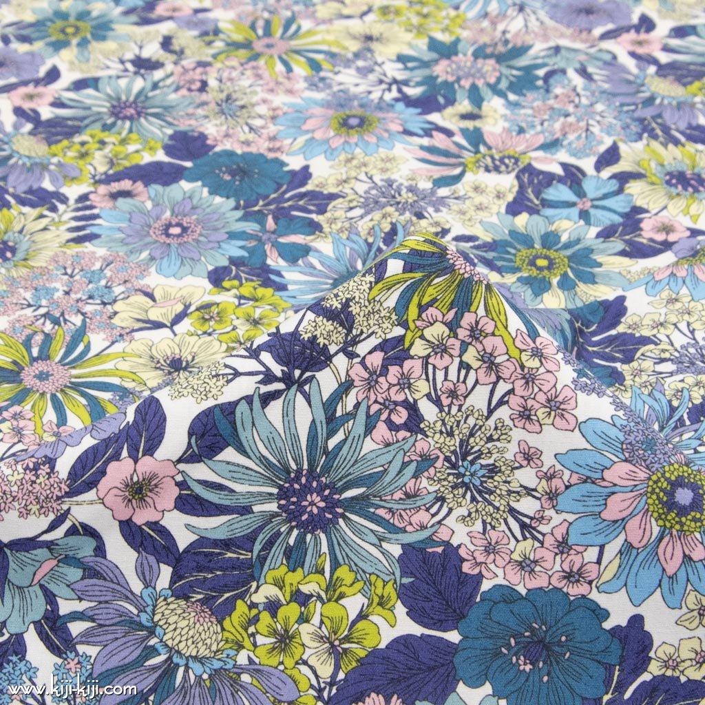 【コットンブロード】botanical flowers|ボタニカルフラワーズ|コットンブロード|クラシカル|