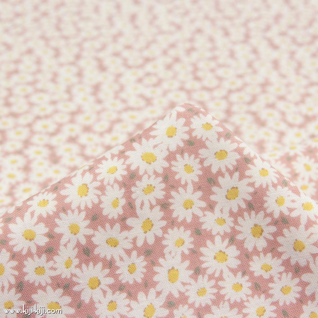 【コットンシーチング】marguerite garden|マーガレットガーデン|コットンシーチング|スモークピンク|