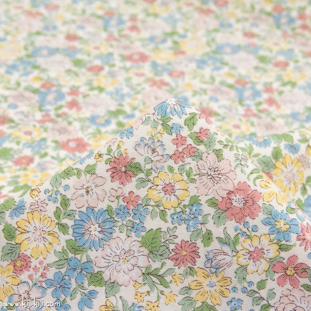 【コットンシーチング】blooming garden|ブルーミングガーデン|コットンシーチング|ぺールトーン|