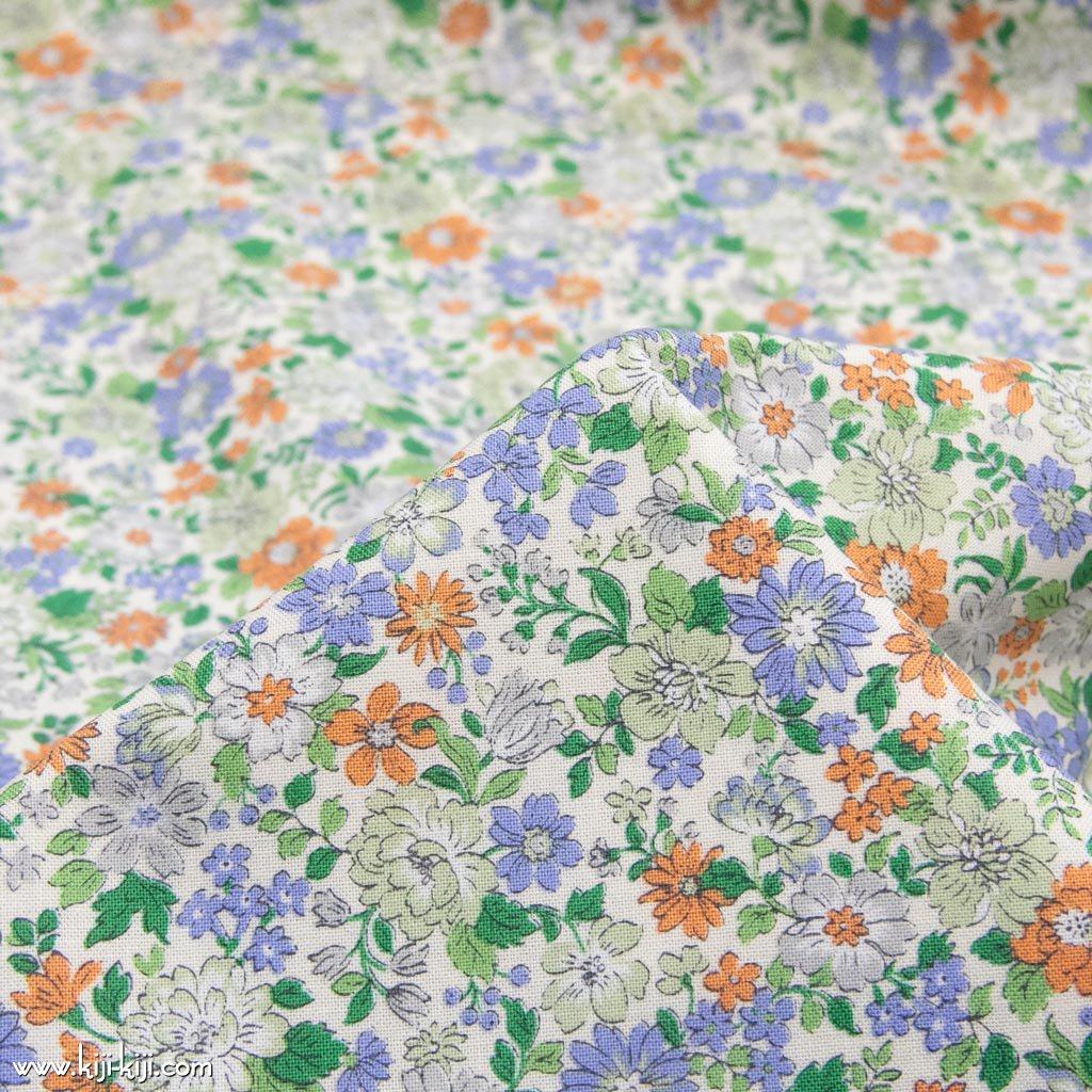 【コットンシーチング】blooming garden|ブルーミングガーデン|コットンシーチング|セージグリーン|