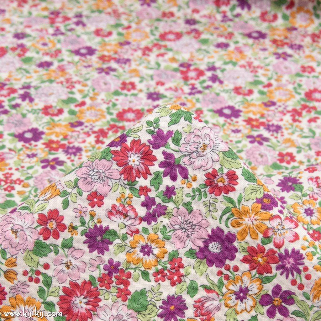 【コットンシーチング】blooming garden|ブルーミングガーデン|コットンシーチング|ヴィヴィッド|