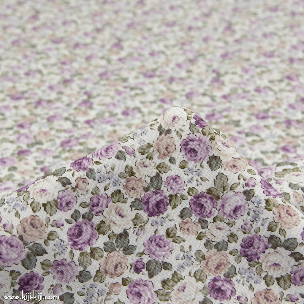 【cotton】classical rose garden|クラシカルローズガーデン|コットンスケア|花柄|オフホワイト+スモークライラック|<img class='new_mark_img2' src='https://img.shop-pro.jp/img/new/icons5.gif' style='border:none;display:inline;margin:0px;padding:0px;width:auto;' />