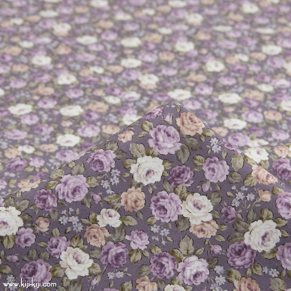【cotton】classical rose garden|クラシカルローズガーデン|コットンスケア|花柄|スモークライラック|<img class='new_mark_img2' src='https://img.shop-pro.jp/img/new/icons5.gif' style='border:none;display:inline;margin:0px;padding:0px;width:auto;' />