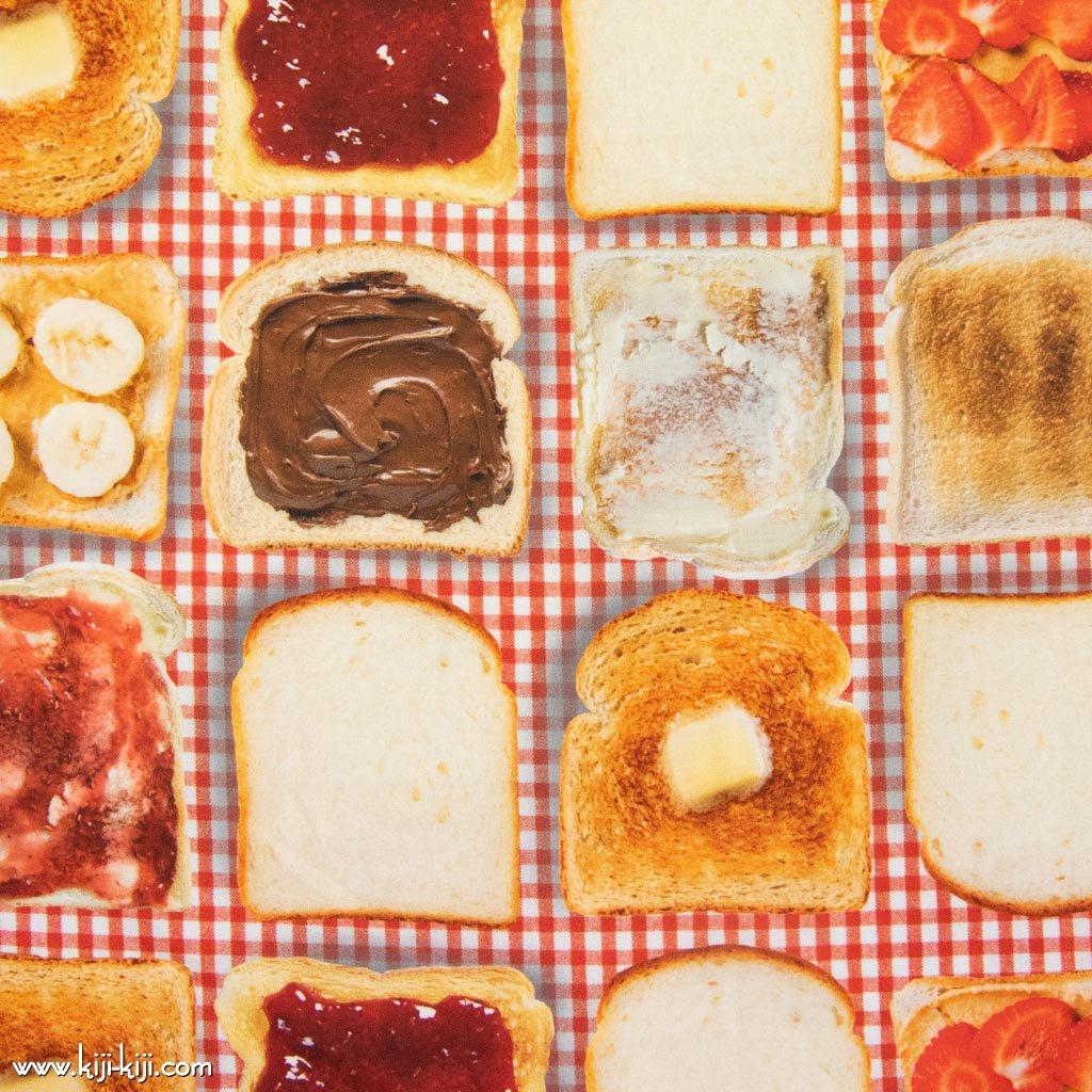 【コットンシーチング】Toast|インクジェットプリント|トースト|