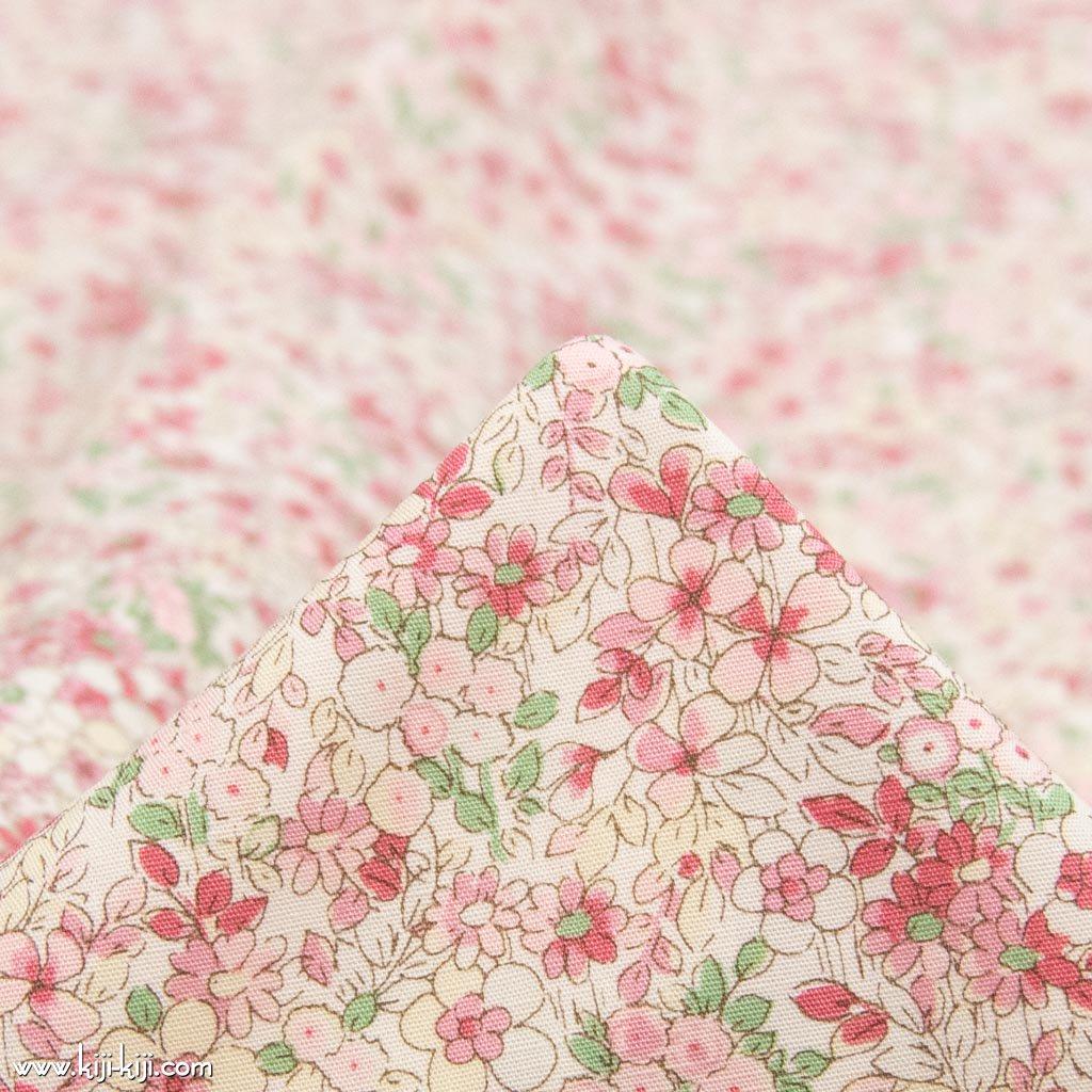 【コットンブロード】flower bloom|フラワーブルーム|小花柄生地|ピンク|<img class='new_mark_img2' src='https://img.shop-pro.jp/img/new/icons5.gif' style='border:none;display:inline;margin:0px;padding:0px;width:auto;' />