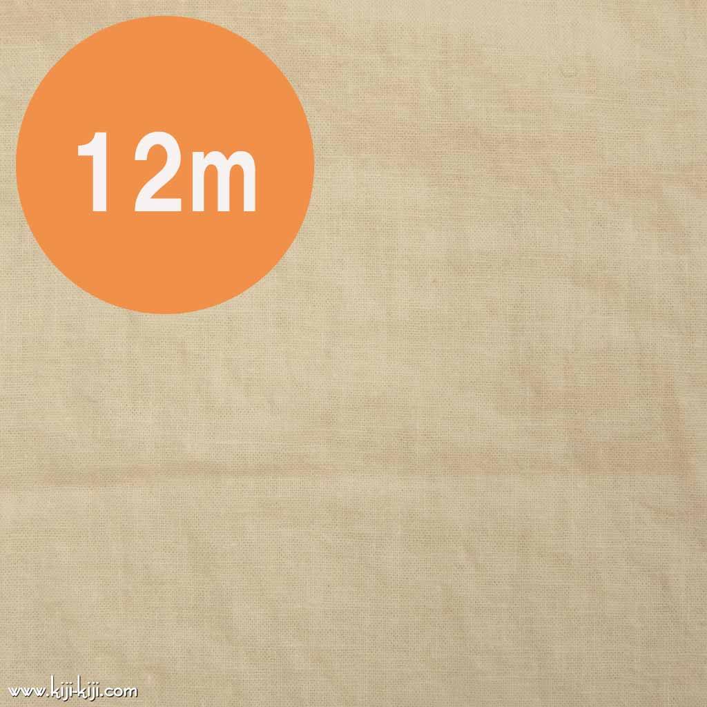 【12m1反販売】こだわりのくったりハーフリネン|タンブラーワッシャー|ハーフリネンシーチング|ミルククリーム|
