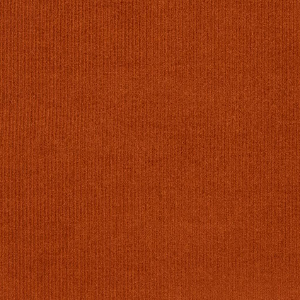 【2021-22AW new】【コーデュロイ】フォグカラーふんわりシャツコール|コールテン生地|オレンジテラコッタ|