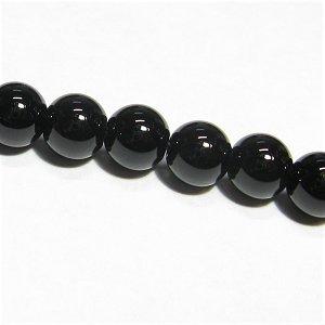 黒水晶 モリオン(AAA)チベット産 ラウンド6mm 【1個】