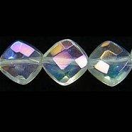 アクアクリスタル ダイヤカット10X10X5mm 【1個】