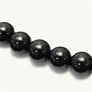 《高品質》 ブラックスピネル(AAA) ラウンド10mm 【1個】 《目標の実現化をサポートする石》