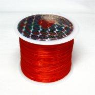 オペロンゴム(水晶の線)54m巻レッド