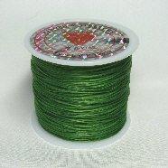 オペロンゴム(水晶の線)54m巻グリーン