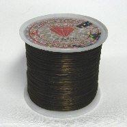 オペロンゴム(水晶の線)54m巻ブラウン