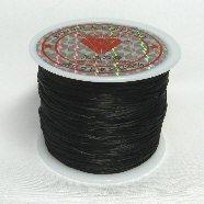 オペロンゴム(水晶の線)54m巻 ブラック 黒