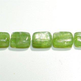 《希少》グリーン カイヤナイト (AA++) レクタングル 9X7X4mm 【1個】