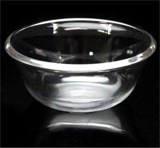 ガラス深皿(大) 12X5cm ブレスレット浄化皿、邪気祓いサザレ用に 【1個】
