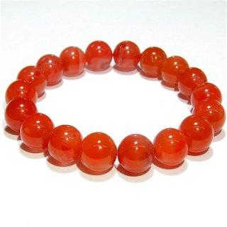 《極上質》 南紅瑪瑙 ブレスレット(11mm) 《子宝のお守り。体と心の調和を促進する石》