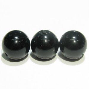 黒水晶 モリオン(AAA-)チベット産 ラウンド12mm【1個】《30%OFF》