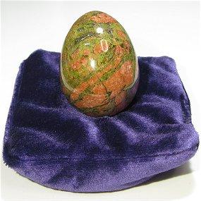原石加工品 パワーストーン卵形 (エッグ) ユナカイト