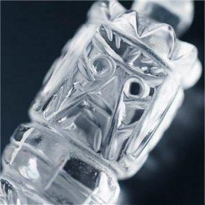 《チベット法具》魔除け守護 ブルパ(独鈷杵・金剛杭)ヒマラヤ水晶製