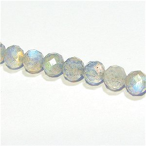 《宝石質》ラブラドライト(AAA)ラウンドカット 4mmシャンデリア 【8個】《5%OFF》