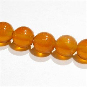 カーネリアン (AAA)オレンジ ラウンド6mm  【1個】