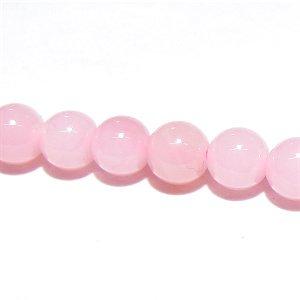 高品質 ピンクオパール (AAA+) ラウンド4mm 【2個】 《女性の内面の魅力を高める石》