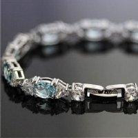 《SALE特価》 CZダイヤモンド ブレスレット 【3本限定】  《50%OFF》