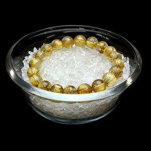 ガラス深皿(中) 10X4cm ブレスレット浄化皿、邪気祓いサザレ用に 【1個】