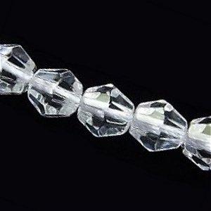 天然水晶 (AAA)クリスタル 16面カット10mm 【1個】 《すべてを浄化し活性化する石》