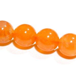 天然色 オレンジカルセドニー (AAA-) ラウンド8mm 【1個】