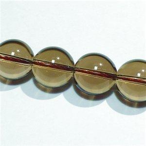 スモーキークォーツ(AAA) ラウンド12mm ライトカラー 【1個】 《現実的な対応能力を養う石》