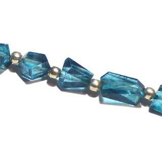 《宝石質》 ロンドンブルーカラートパーズ(AAA-) タンブルカット5-8mm 【1個】 《自信を与え活力を取り戻す石》
