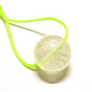 《希少》 リビアンデザートグラス(リビアングラス)9.5mm 【1個】 《カルマを浄化する石》