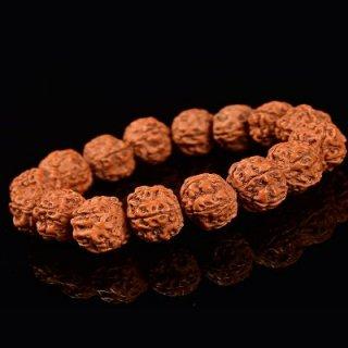 金剛菩提樹 ブレスレット 念珠 15mm粒 (ネパール産)