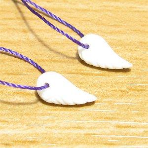 《Present》 天使の羽mini(ホワイトシェル)10mm   【2個】