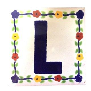 メキシカンタイル - アルファベット(L)