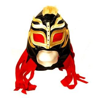 ルチャマスク(プロレスマスク)ブラック/ゴールド